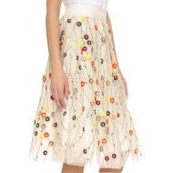 Alice + Olivia Catrina Embellished Skirt