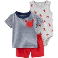 Carter%27s Carters Baby Boys 3-Piece Little Short Sets