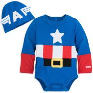 Disney Captain America Costume Bodysuit for Baby