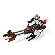 Disney Scout Trooper and Speeder Bike Playset by LEGO - Star Wars