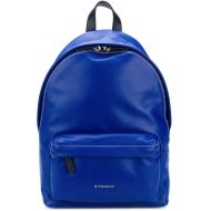 Givenchy Logo Strap Electric Blue Calf Leather Backpack
