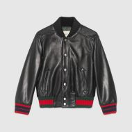 Gucci Childrens leather jacket, 4-6 years