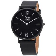 Ice-Watch Unisex City Tanner Leather Black Dial