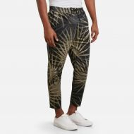 Kennethcole Palm Print Pull-On Drawstring Pant