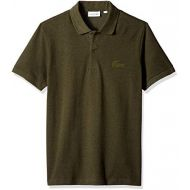 Lacoste Mens Short Sleeve Reg Fit Velvet Croc Polo