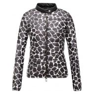Moncler Black White XS Duras Giraffe Down Feather Puffer Parka Jacket