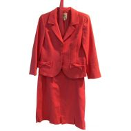 Nanette Lepore Hot Pink Skirt Suit