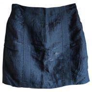 Nanette Lepore Blue Straight Skirt
