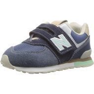 New Balance Kids 574v1 Hoop and Loop Sneaker