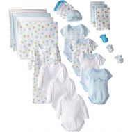 Spasilk SpaSilk Baby Boys Newborn 23-Piece Essential Baby Layette Set